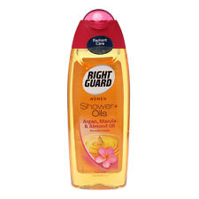 Right Guard Women Shower Oil With Argan, Marula and Almond Oil For Dull Skin
