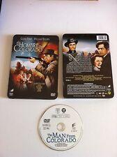EL HOMBRE DE COLORADO - MAN FROM COLORADO DVD SPANISH EDITION RARE TIN STEELBOOK