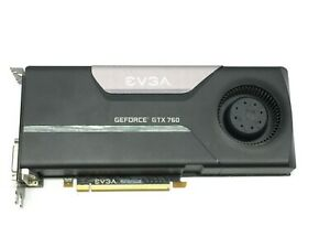 EVGA Nvidia GTX 760 SuperClocked 2GB 256-bit GDDR5 PCI Express 02G-P4-2762-KR