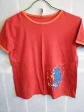 T-shirt rouge garçon, motif dragon, taille 10-12 ans