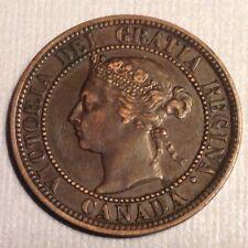 1882 H Canada  Victoria Large Cent