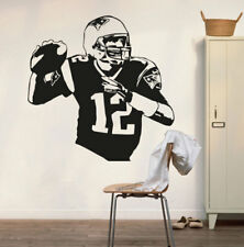 Vinyl Wall Decal Sticker Tom Brady New England Patriots Wall Art Decor Poster