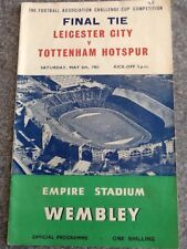 Leicester City v Tottenham Hotspur - 1961 FA Cup Final 06May61