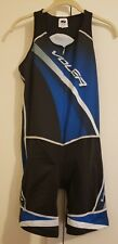 Voler Sync Cycling trisuit/shorts Womens 2 XL Blu/Blk/Wht  Compression Padded