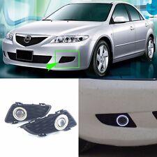 Superb LED COB Angel Eyes+HID Lamp Projector Lens Foglights For Mazda 6 2004-05