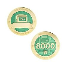 Milestone Geocoin and Tag Set - 8000 Finds Geocaching Official Trackable