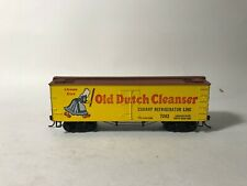 Ho Roundhouse Old Dutch Cleanser / Cudahy Crl 36' Pd Reefer Car #7243 Exc Kadees