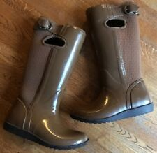BOGS Brown Waterproof Rain All Weather Boot Women Size 6 Nice Quality