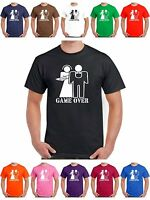 Stag T Shirt Game Over Funny Hen Party Night Tshirt Size S to 8XL Mens Womans