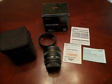 Sigma 50mm F1.4 EX DG HSM Lens for Sony Manufacturer Refurbished FREE SHIPPING