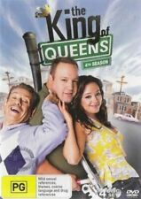KING OF QUEENS (COMPLETE SEASON 4 - DVD SET SEALED + FREE POST)