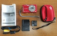 Panasonic LUMIX DMC-FH25 16.0MP Digital Camera - RED - EXCELLENT USED