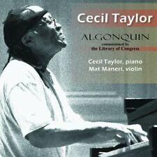 CECIL TAYLOR - CECIL TAYLOR: ALGONQUIN [CD]