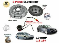 FOR ROVER 75 1.8 16v 120BHP 18K4F 1999--> NEW CLUTCH + SLAVE CYLINDER KIT