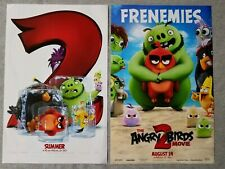 The Angry Birds Movie 2, 11 x 17 Movie theater poster double sided - Lot of 2