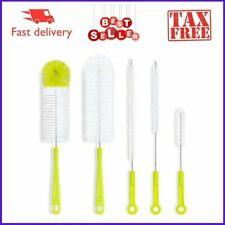 5Pcs Bottle Brush Hookah Cleaning Kit Bong Brushes Water Bubbler-Safe Food Grade