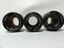 Minolta 50mm f/1.4 Rokkor x 2 1 One 50mm f/1.7 MD 3 Three lens Included.