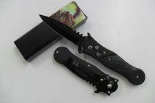 Couteau Pliant de Poche Lame Acier 8,5 cm Manche Résine 11,5 cm Chasse Peche
