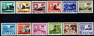 (Ref-14454) Jersey 1978 Postage Dues - Parish Arms & Views SG.D21/D32 Mint (MNH)
