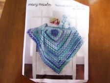 "Mary Maxim ""Textured Granny Blanket"" Crochet Kit #99578N"