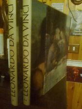 LEONARDO DA VINCI  ( 2 volumi con cofanetto )  DE AGOSTINI  1972
