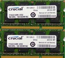 16GB KIT RAM per APPLE MAC MINI 2.3 GHz quad-core Intel Core i7-late 2012