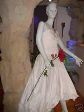Vestido de Novia Bienes Provenientes Quiebra 36 38 Color Salmón Disfraz Carnaval