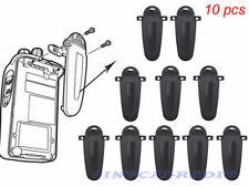 10x KBH-12 OEM Belt Clip for Kenwood NX-420 NX-320 TK-3180 TK-3160 TK-3140 Radio