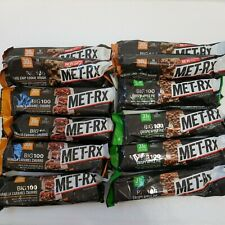 MET-Rx Big 100 Colossal Protein Bars x 12 Variety Pack Best By 03/2021 - 09/2021