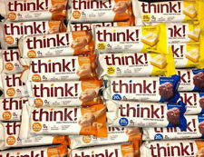 48 Assorted Flavor - THINK THIN 20g PROTEIN - 230 Calroie Nutrition Bars