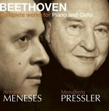 BEETHOVEN COMPLETE CELLO/PIANO - MENESES/PRESSLER [CD]