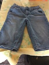Dg2 Diane GILMAN 2 Shorts Jean Denim Blue 3 Pocket Slightly Used