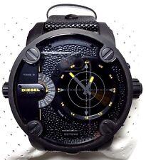 Diesel Little Daddy RDR Leather - Black Men's watch #DZ7292