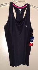 Pony Brand Black Racerback Tank Top Athletic Wear Sz M Retail $32.00