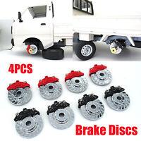 4x Metall Bremsscheibe Brake Disc Für WPL D12 RC Auto Car Truck Upgrade Teile