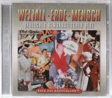 WELTALL ERDE MENSCH * Renft Team 4 Lift City Karat Keks Nina Hagen Ostrock  * CD