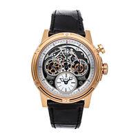 Louis Moinet Memoris LE Auto 46mm Rose Gold Mens Watch Chronograph LM-54.50.80
