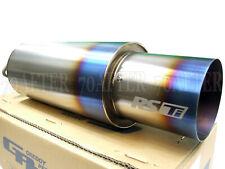 "Greddy RS-Ti Universal Titanium Exhaust Muffler (2""/63mm) Inlet (4""/105mm) Tip"