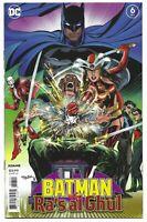Batman vs. Ra's al Ghul #6 2021 Unread Neal Adams Main Cover DC Comic Book