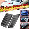 Carbon Fiber Look Bonnet Hood Vent Scoop Duct For Subaru Legacy Impreza WRX STi