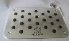 Battitacco in alluminio per tappetini PEUGEOT 206 207 307 308 406 407 508