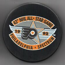 1992 All Star Game Philadelphia Flyers NHL Hockey Puck + FREE Cube