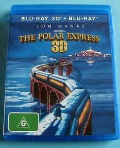THE POLAR EXPRESS 3D BLU-RAY / 2D Tom Hanks