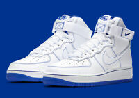 Nike Air Force 1 High '07 White Racer Blue CV1753-101 Men's Shoes NEW