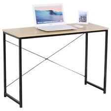 Scrivania Tavolo Porta PC Computer in Legno e Metallo Casa Ufficio 120x60x70cm