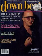 Paul Shaffer Dave Holland Downbeat Clipping