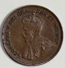 CA0265 Canada 1925 Small Cent AU