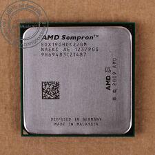 AMD Sempron x2 190 - 2.5 GHz (sdx190hdk22gm) Socket am3 CPU processore 2000 MHz