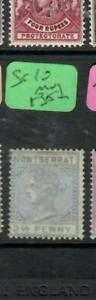 MONTSERRAT  (PP0807B)  QV  2 1/2 D  SG 10    MOG