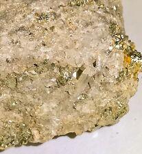 $419 Gold Ore Specimen Quartz 208 Carat !